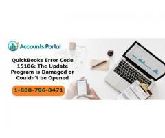 Quickbooks Error 15106 while updating payroll ☎️18007960471