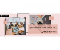 QuickBooks POS Error Code 1402 - QB Desktop Installation Error