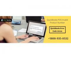 QuickBooks POS Invalid Product Number | Error code 176109