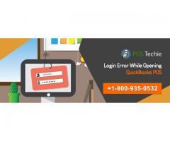 Login Error while opening QuickBooks POS