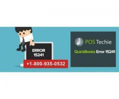 QuickBooks Error Code 15241 Troubleshoot