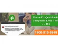 QuickBooks Error C 184