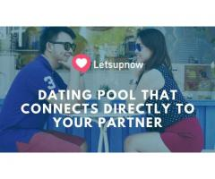 Dating Pool That Connects Directly To Your Partner